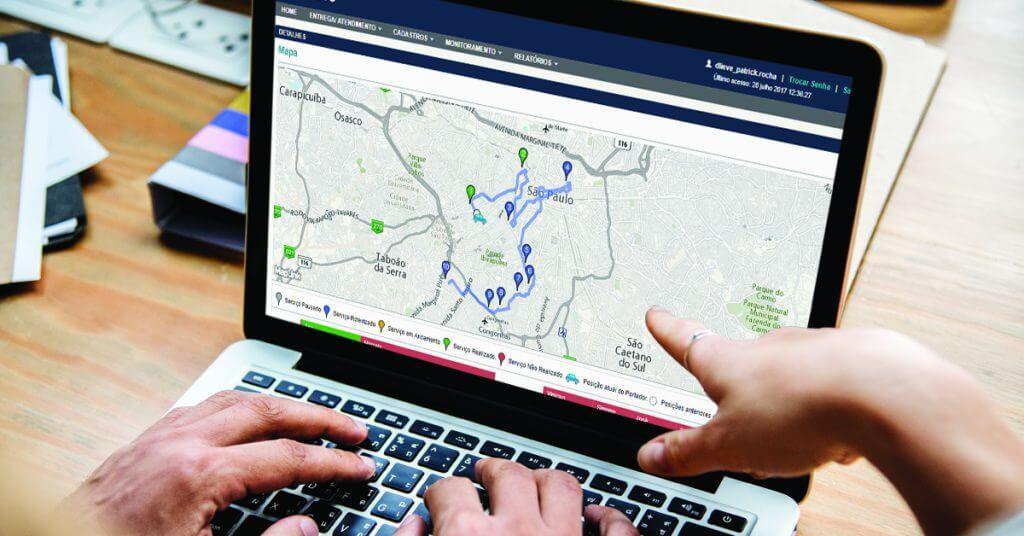 software de gestão de entregas
