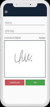 Assinatura digital sistema de gestão de entregas
