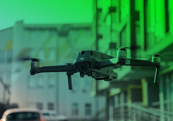 transporte e logística drones