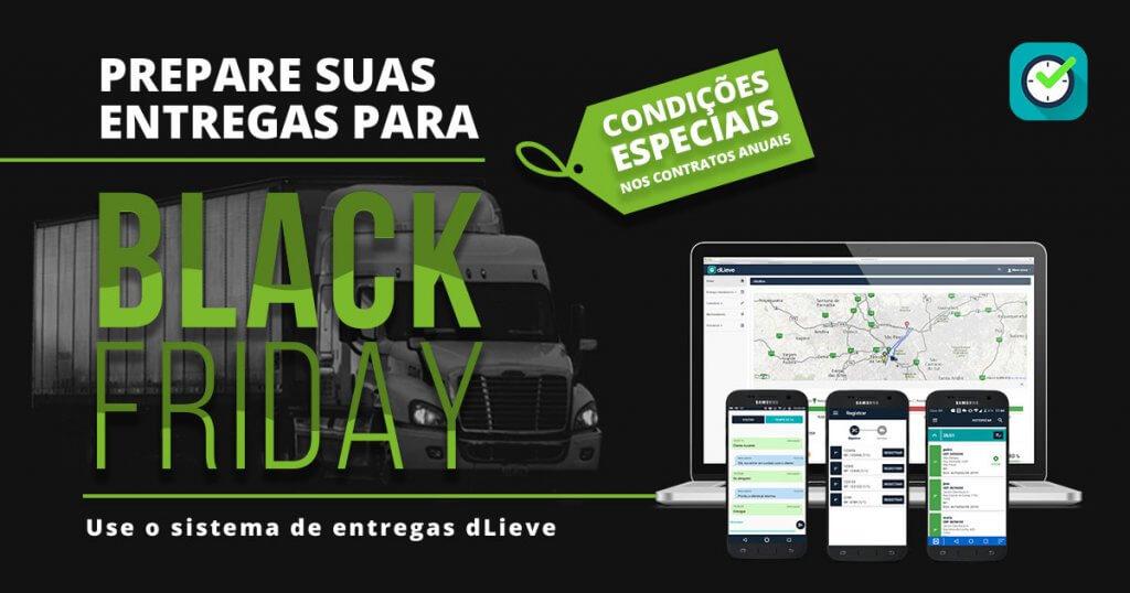 black friday logística