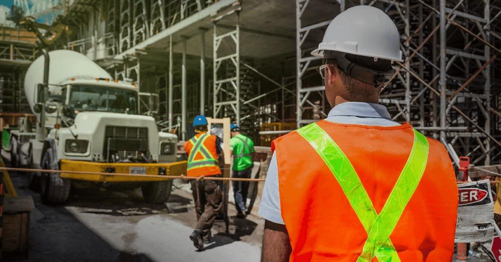 entrega de materiais de construção civil
